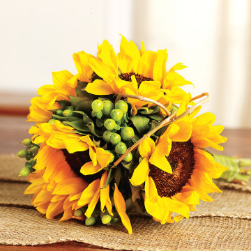 Sunflower Toss Bouquet