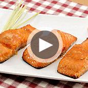 Asian Gingered Salmon