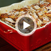 How to Make Cranberry Pistachio Bread Pudding