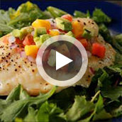 Oven Baked Tilapia from Frozen