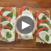 How to Make a Caprese Sandwich
