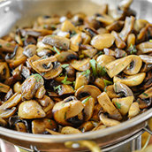 Meatless Meals with Mushrooms