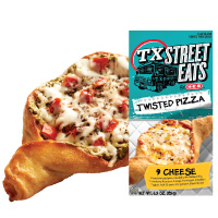 TX Street Eats Twisted Pizza