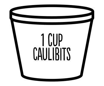 1 Cup Caulibits