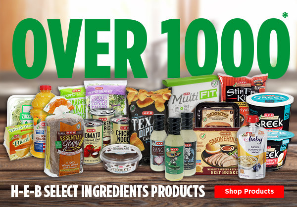 Over 1000 Select Ingredients Products