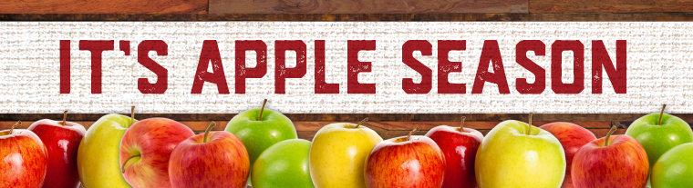 It's Fall Apple Season