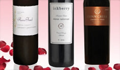 the red romantic - Valentines Day Wine