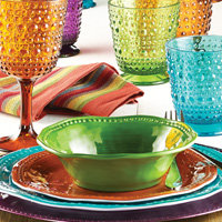 Hu2011Eu2011Bu0027s Brand New Holiday Market Collection Featuring Jewelu2011toned Melamine  Dinnerware And Charger Plates And Acrylic Drinkware In An Array Of Fall  Hues Is ...