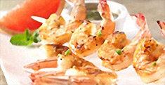 Shrimp with Grapefruit Glaze