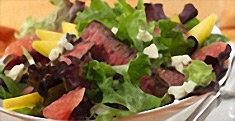Grapefruit and Steak Salad