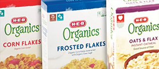 H-E-B Organics Oatmeal and Cereals