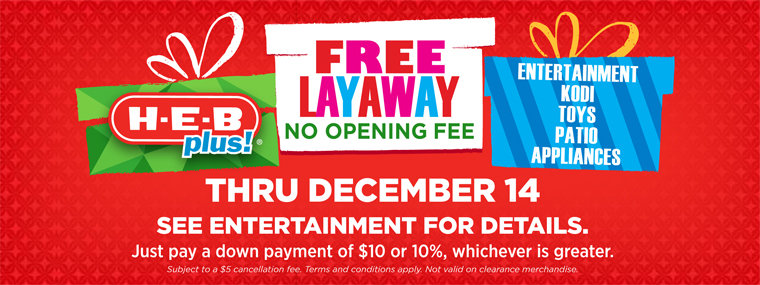 Layaway At HEB Plus Browse Online - Free car invoice template online layaway stores