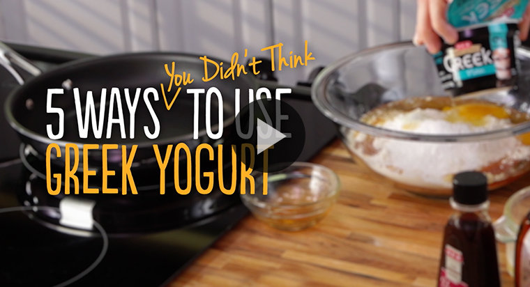 5 Ways You Didn't Think to Use Greek Yogurt