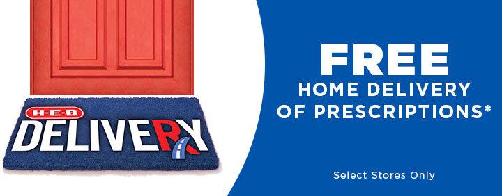 H-E-B Free Home Delivery