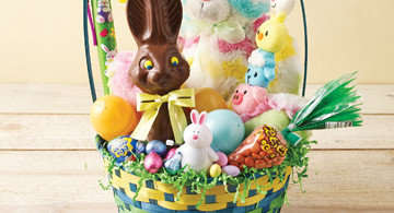 Easter recipes games baskets heb homemade easter basket ideas negle Images