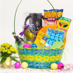 Ideas for homemade easter baskets heb teen easter basket young adult basket negle