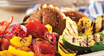 How to Grill Fruits and Vegetables