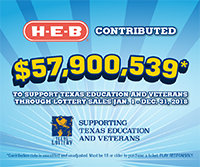 Texas Lottery Supporting Texas Education and Veterans