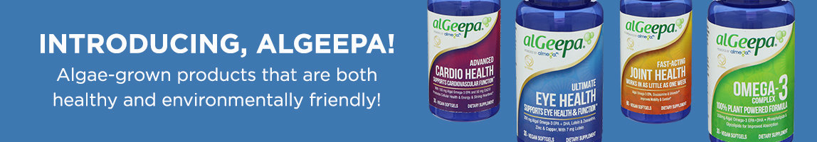Introducing, alGeepa! Algae-grown produts that are both healthy and environmentally friendly!