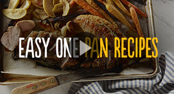 Recipe cooking videos in the kitchen with heb heb three easy one pan meals forumfinder Gallery