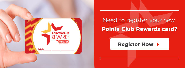Points Club Rewards - HEB