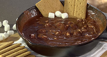 Grilled S'more Dip
