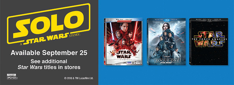 Solo in-store September 25th