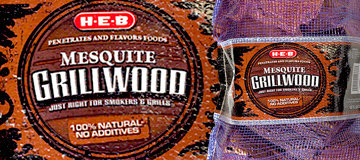 H-E-B Mesquite Grilling Logs