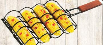 Sear 'N Smoke Corn Grilling Basket