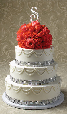 Elegant Bride Wedding Cake Designs