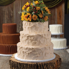 Rustic Bride Cake Designs