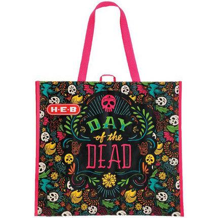 H E B Day Of The Dead Reusable Shopping Bag Shop Reusable Shopping Bags At H E B