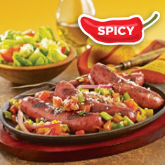 Spicy Sausage with Peppers