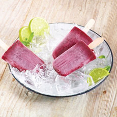Cherry Lime Pops