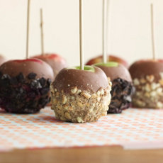 Cookie Crumble Apples