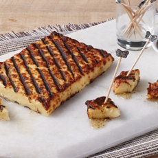 Grilled Brun‑Uusto with Za'atar Honey