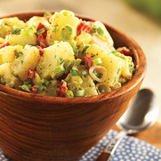 Grilled Potato Salad with Dill