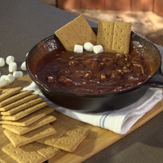 Grilled S'more Dip Recipe