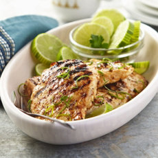 Lime-Grilled Chicken Breast