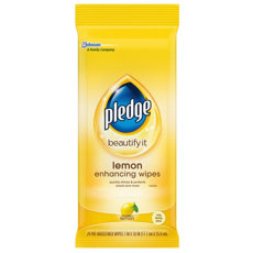 Pledge Pre‑Moistened Lemon Wipes