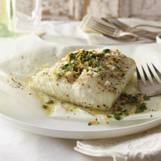 Rasted Cod with Orange and Fennel Gremolata