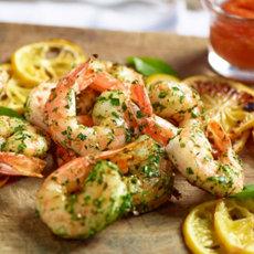 Roasted Shrimp and Meyer Lemon