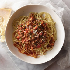 Spaghetti with Veal Bolognese