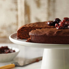 Torta Caprese (Chocolate and Almond Flour-less Cake)