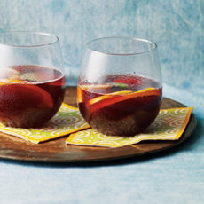 Tropical Sangria Recipe with Red Wine