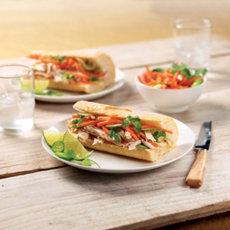 Turkey Banh Mi Sandwich Recipe