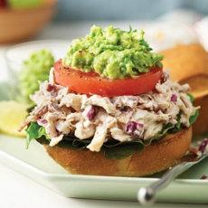 Turkey Bacon Salad with Avocado Recipe