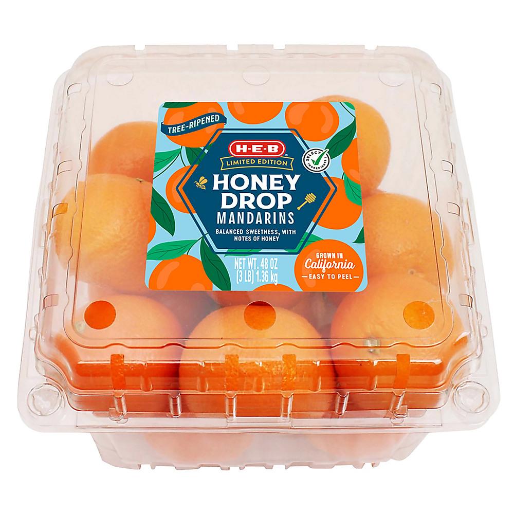 H-E-B Honey Drop Mandarins