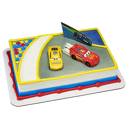 Cars 3 Ahead of the Curve Cake