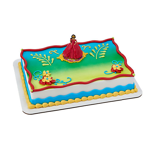 Elena Of Avalor Crown Princess Cake